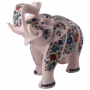 Marble Elephant Statue (67)