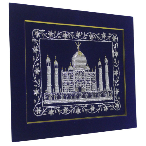 Embroidery Wall Panel Tajmahal Silk Thread