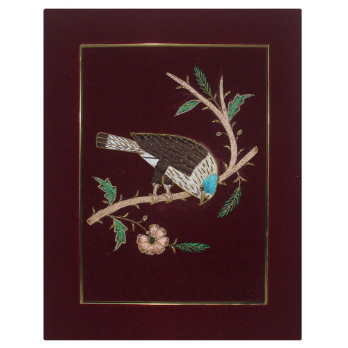 Embroidery Wall Bird Art For Living Room Bedroom Home Decoration