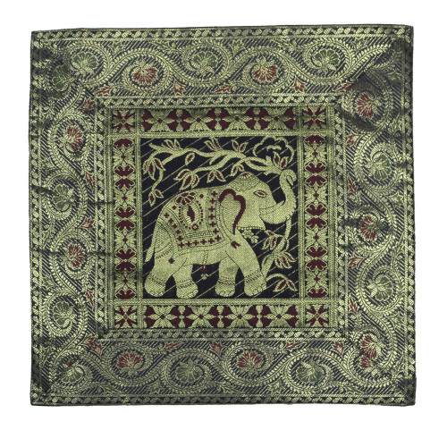 Embroidery Elephant Cushion Cover For Living Room Decor