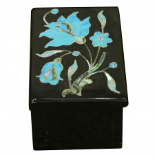 Decorative Floral Onyx For Jewellery Storage Gift