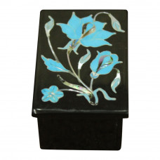 Fully Handicraft Onyx Trinket Box For Valentine Day Gift