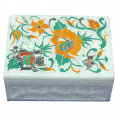 Christmas Gifts Marble Inlay Jewelry Box