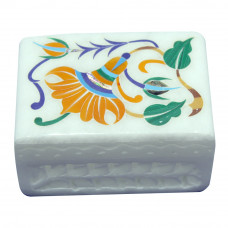 Moroccan Trinket Box Inlay Floral Work