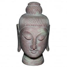 Beautiful Soap Stone Buddha Head
