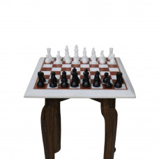 Luxury Chess Board Set With Mosaic Art