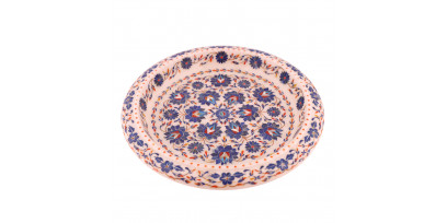 Marble Inlay Decorative Fruit Bowl For Fruits and Dry Fruits