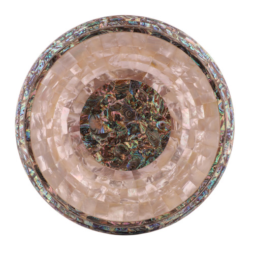 Kitchen Decorative White Marble Fruit Bowl Handmade