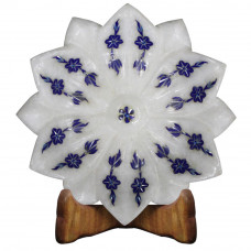Lapis Lazuli Pietra Dura Marble Bowl Symbol Of Purity