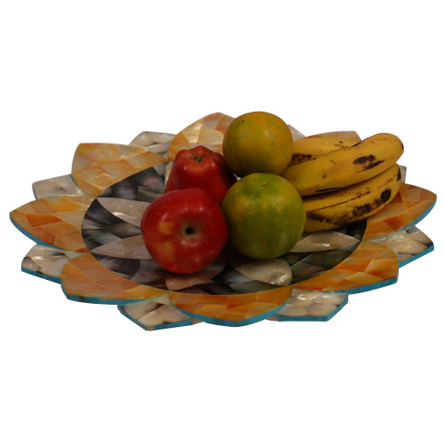 Unique Fruit Bowl to Decor Your Home With Semi Precious Stones