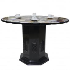 Beautiful Decorative Black Marble Italian Coffee Table Top