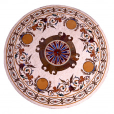 """Pietre Dure Table Top 