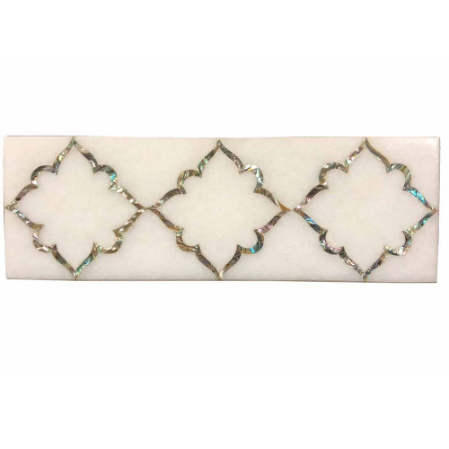 Home Decorative White Marble Kitchen Floor Tiles