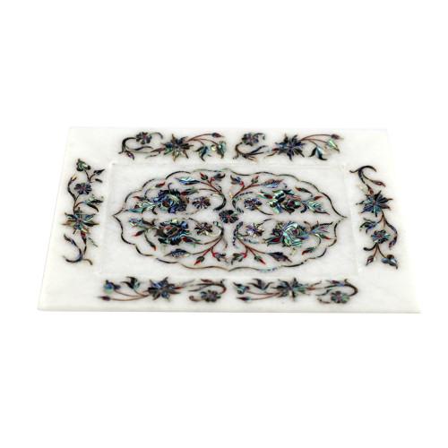 Marble Inlay Wall Decorative Tray Mosaic Art Work