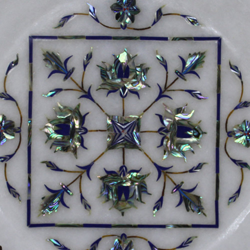 Marble Inlay Plate For Your Beautiful Home Decor