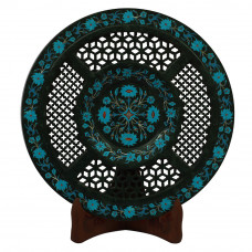 Filigree Wall Plate Best Carved Design and Stone Work