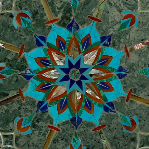 Green Marble Beautiful Wall Plate for Decorating Your House