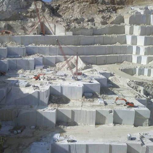 white makrana marble